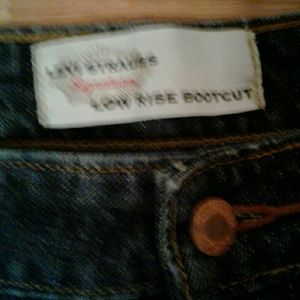 Levi's Jeans - Levi Strauss Low Rise Boot Cut Jeans Size 14 Med